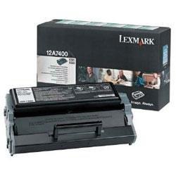 Toner Lexmark 0012A7400 black do Optra E321 / Optra E323 / Optra E323N na 3 tys. str.