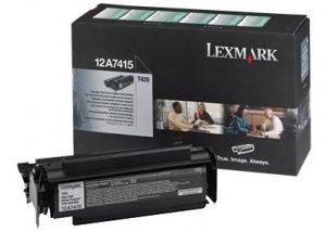 Toner Lexmark  0012A7415 black do Optra T 420 D / Optra T 420 DN na 10 tys. str.
