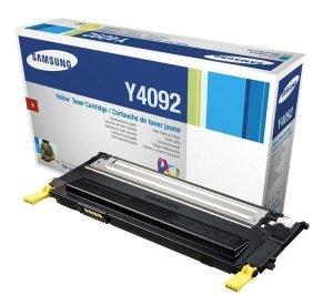 Toner Samsung oryginalny CLT-Y4092S yellow do CLP-310 /CLP-310N /CLP-315 /CLP-315N /CLX-3170 /CLX-317ON /CLX-3170FN /CLX-3175 na 1 tys. str