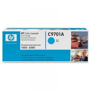 Toner HP C9701A cyan do Color LaserJet 1500 / 2500 na 4 tys. str.