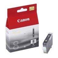 Tusz Canon CLI8BK do iP-4200/4300/5200/5300/6600, MP-500/600/800 | 13ml | black
