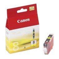 Tusz Canon CLI8Y do iP-4200/4300/5200/5300/6600, MP-500/600/800 | 13ml | yellow