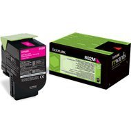 Kaseta z tonerem Lexmark 802M do CX-310/410/510 | zwrotny | 1 000 str. | magenta