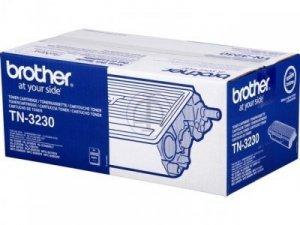 Toner oryginalny Brother TN3230 black do HL-5340D / HL-5350DN / HL-5370DW / HL-5380DN / DCP-8070D / DCP-8085DN / MFC-8370DN / MFC-8380DN / MFC-8880DN / MFC-8890DW  na 3,5 tys. str. TN-3230