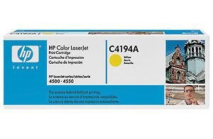 Toner HP C4194A yellow do Color LaserJet 4500 / 4550 na 6 tys. str.