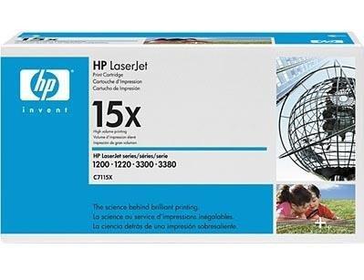 Toner HP C7115X black do HP LJ 1000 / 1005W / 1200 / 1220 / 3300 / 3310 / 3320 / 3330 /3380 na 3,5 tys.str 15X