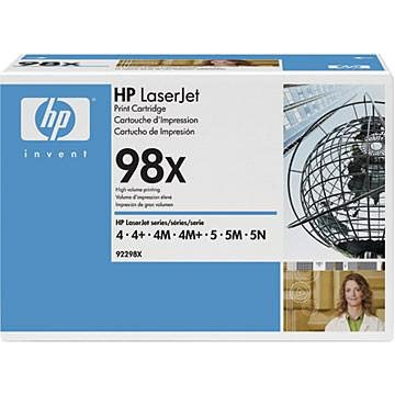 Toner HP 92298X black do LaserJet 4 / 4m / 4+ / 4m+ / 5 / 5m / 5n na 8,8 tys. str. 98X