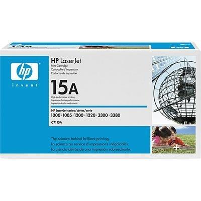 Toner HP C7115A black do HP LJ 1000 / 1005W / 1200 / 1220 / 3300 / 3310 / 3320 / 3330 /3380 na 2,5 tys.str 15A