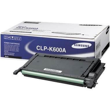 Toner Samsung CLP-K600A black do CLP-600 / CLP-600 N / CLP-650 / CLP-650 N  na 4 tys. str.