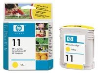 Tusz HP No 11 yellow C4838AE poj. 28ml do Inkjet 1200d /CP 1700 / OfficeJet Pro K850