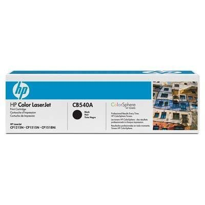Toner HP CB540A black do Color LaserJet CM1312 MFP / CP1515 / CP1515n / CP1518 / CP1215 / na 2,2 tys. str.