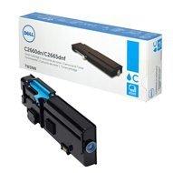 Toner Dell do C2660DN/C2665DNF  | 4 000 str. | cyan