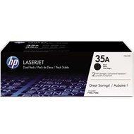 Zestaw dwóch tonerów HP 35A do LaserJet P1005/1006 | 2 x 1 500 str. | black