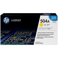 Toner HP 504A do Color LaserJet 3525/3530 | 7 000 str. | yellow