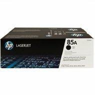 Zestaw dwóch tonerów HP 85A do LaserJet Pro P1102,M1132 | 2 x 1 600 str. | black