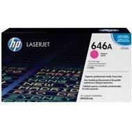 Toner HP 646A do Color LaserJet CM4540 | 12 500str. | magenta