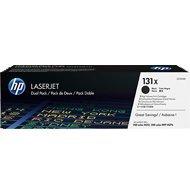 Zestaw dwóch tonerów HP 131X do Color LaserJet M251/M276 | 2 x2 400 str. | black