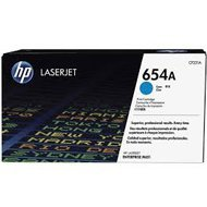 Toner HP 654A do Color LaserJet Enterprise M651 | 15 000 str. | cyan