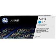 Toner HP 508X do Color LaserJet  M552/553   9 500 str.   cyan