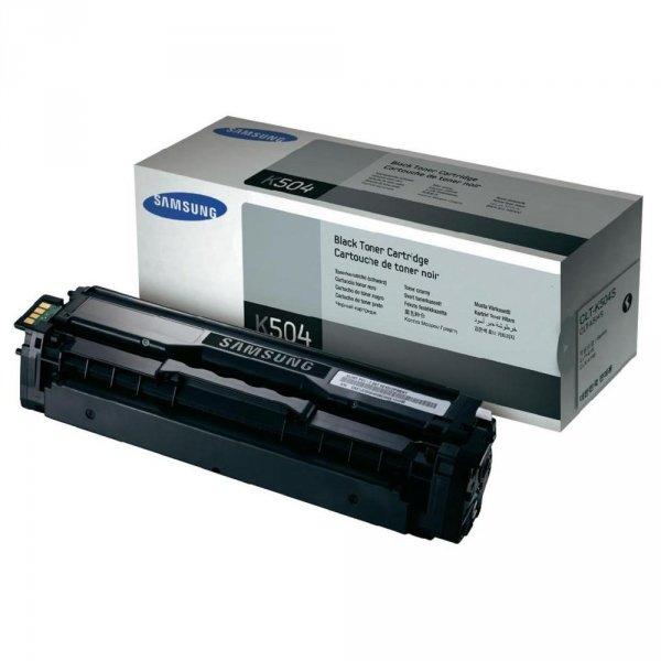 Toner oryginalny Samsung CLT-K504S black do CLP-415 / CLP-415NW / CLX-4195 / CLX-4195FW / CLX-4195FN na 2,5 tys str.
