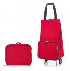 Torba na kółkach Foldable Trolley kolor Red, firmy Reisenthel