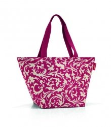 Torba na zakupy Shopper M kolor Baroque Ruby, firmy Reisenthel