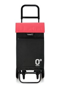 Wózek na zakupy G360 Travel Termico 10015T kolor Black/Red, firmy Garmol