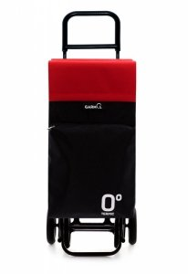 Wózek na zakupy G4 Travel Termico 10015T kolor Black/Red, firmy Garmol