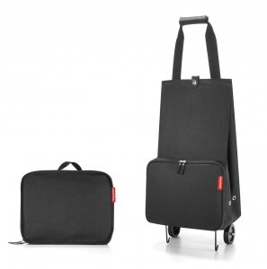 Torba na kółkach Foldable Trolley kolor Black, firmy Reisenthel