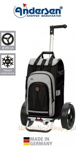 Wózek turystyczny Tura 135 Hydro 2.0 czarny, firmy Andersen