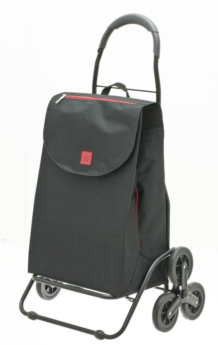 Wózek na zakupy Busselon kolor czarny, firmy Secc