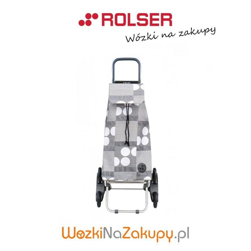 Wózek na zakupy IMX045 RD6 LOGOS kolor GRIS, firmy Rolser