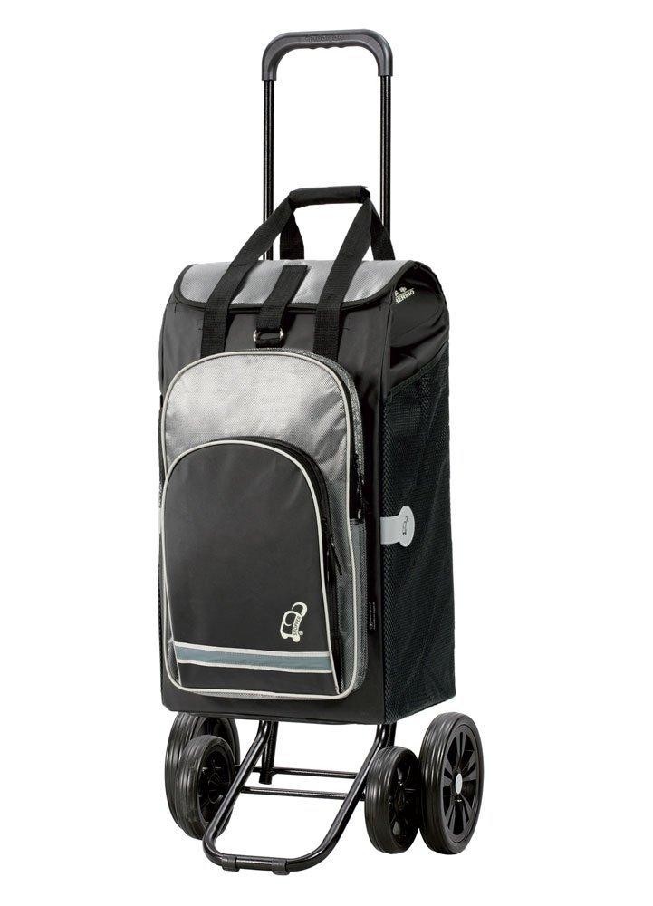Wózek na zakupy Quattro Hydro czarny, firmy Andersen