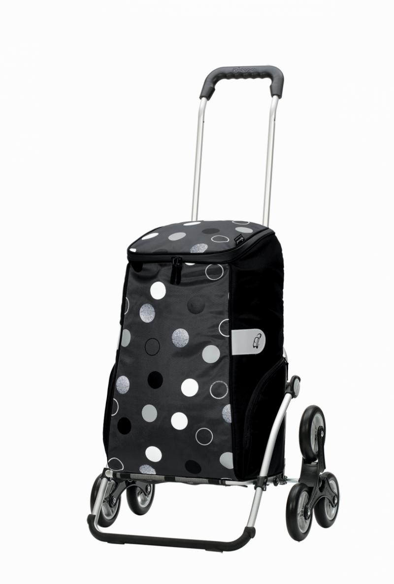 Wózek na zakupy Royal 6 Sila szary, firmy Andersen