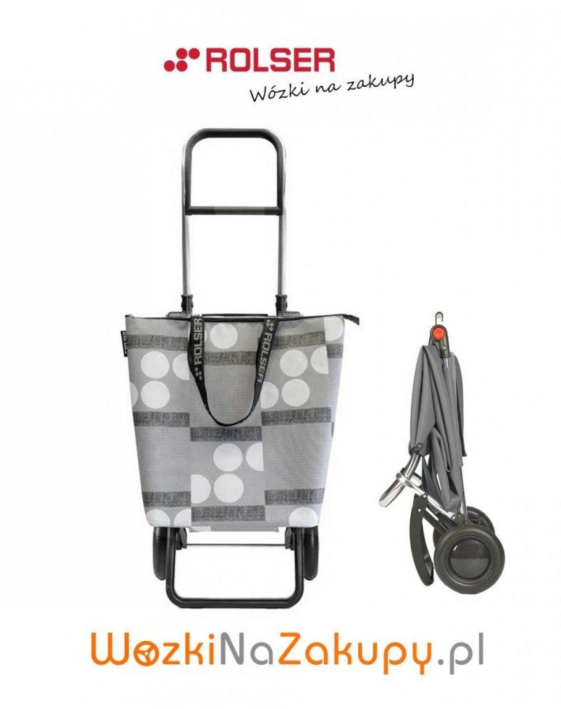 Wózek na zakupy MNB011 Mini Bag LOGIC RG Logos kolor Gris, firmy Rolser
