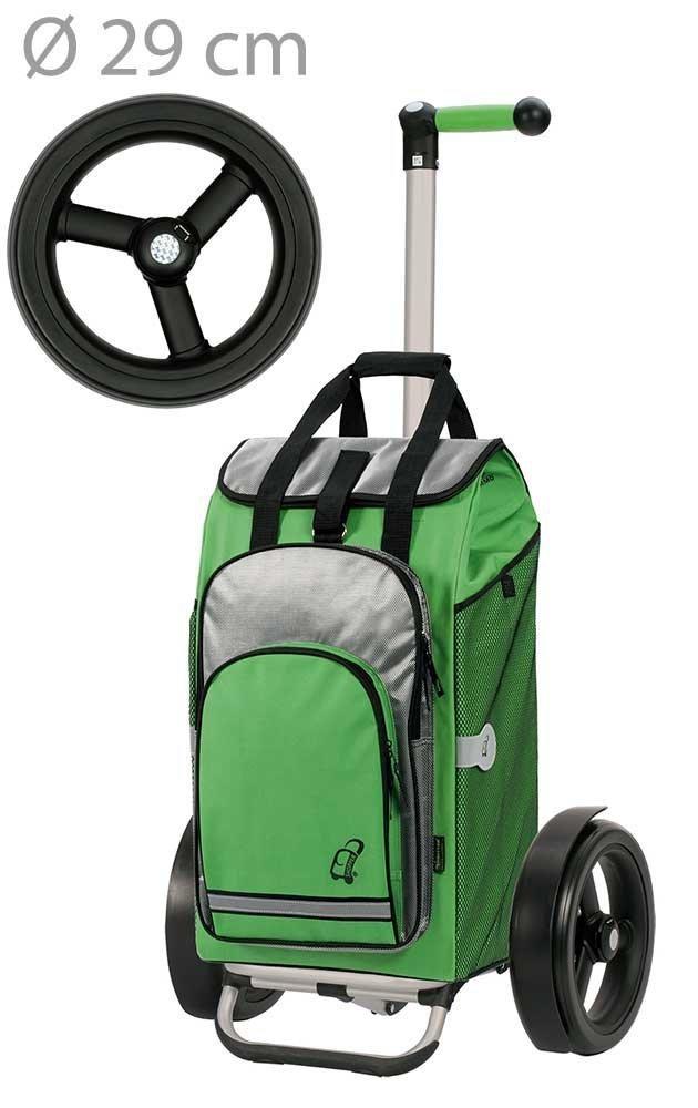 Wózek na zakupy Tura 135 Hydro zielony, firmy Andersen