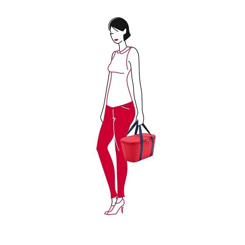 Torba izotermiczna Coolerbag XS kolor Red, firmy Reisenthel