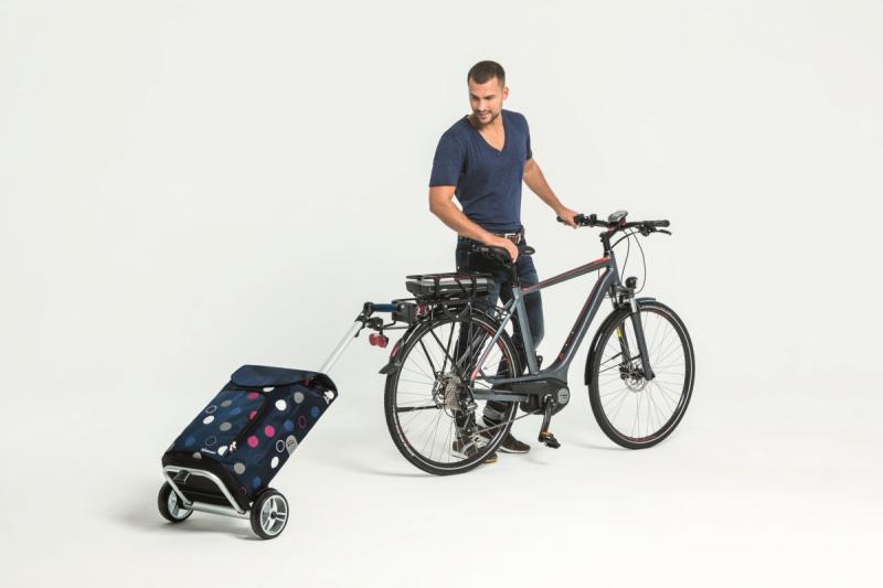 Wózek na zakupy Unus Kira szary, firmy Andersen