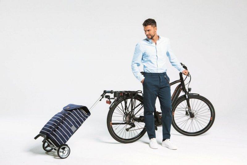 Wózek na zakupy Unus Fun Holm antracyt, firmy Andersen