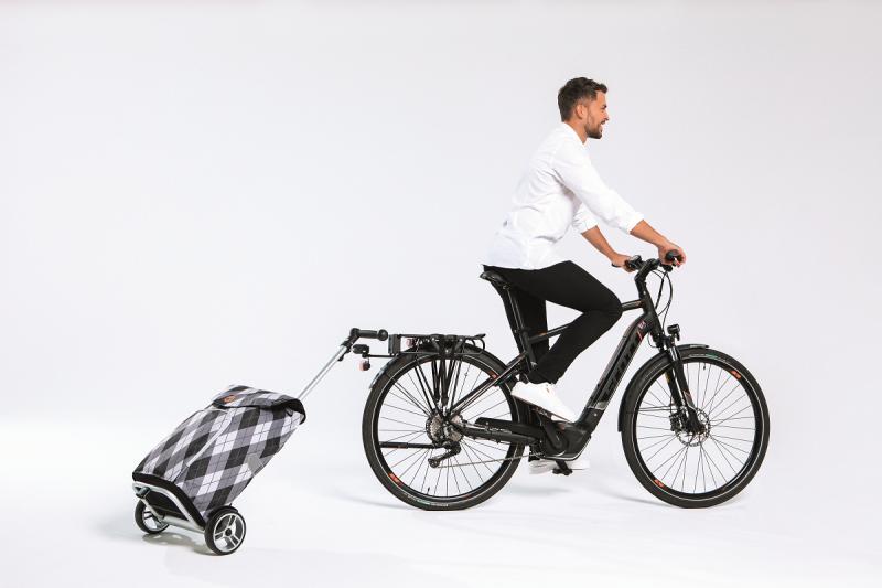 Wózek na zakupy Unus Hydro 2.0 granatowy, firmy Andersen
