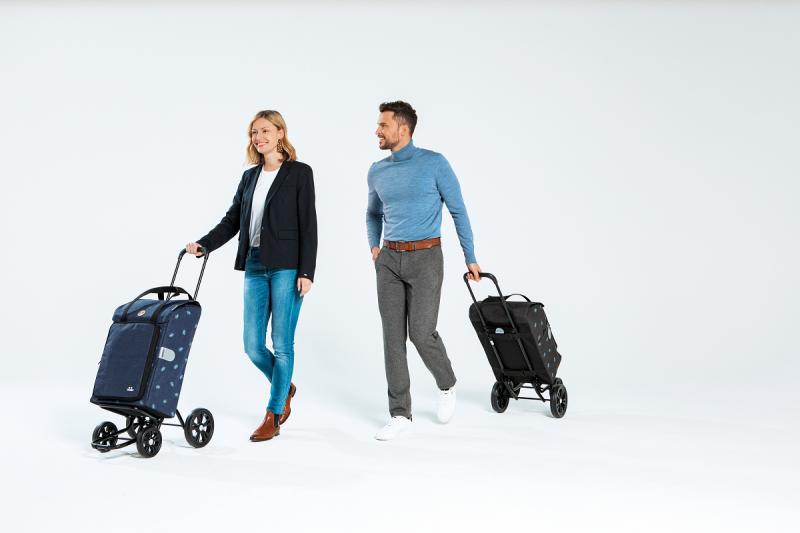 Wózek na zakupy Quattro Ivar antracyt, firmy Andersen