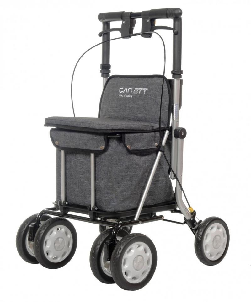 Wózek na zakupy Lett900 kolor Grey Textured, firmy Carlett