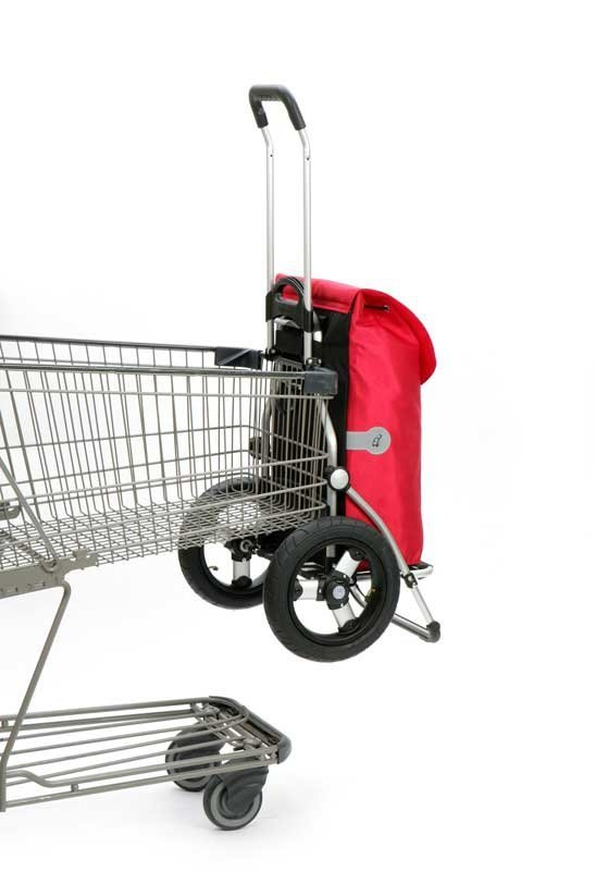 Wózek na zakupy Royal 165 Hydro czerwony, firmy Andersen