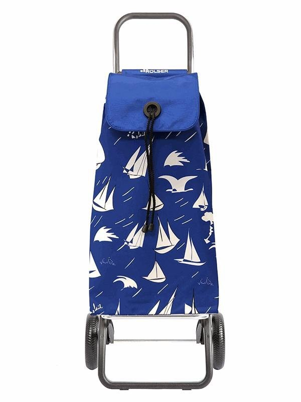 Wózek na zakupy IMX127 Convert RG Brisa kolor Azul, firmy Rolser