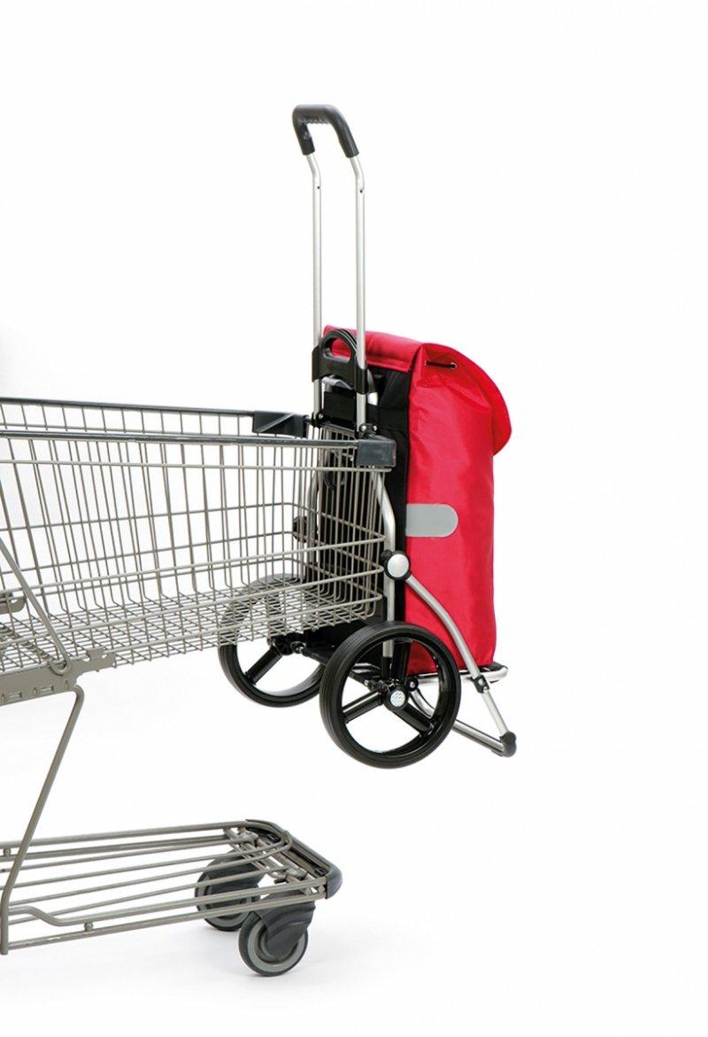 Wózek na zakupy Royal 166 Ando antracytowy, firmy Andersen