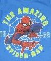 Bluzka Spiderman Amazing niebieska