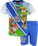 Piżama Psi Patrol letnia piątka niebieska