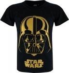 T-shirt Star Wars Gold Vader