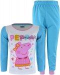 Piżamka ze Świnką Peppą na bluzce niebieska