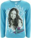 Bluzka Soy Luna niebieski melanż